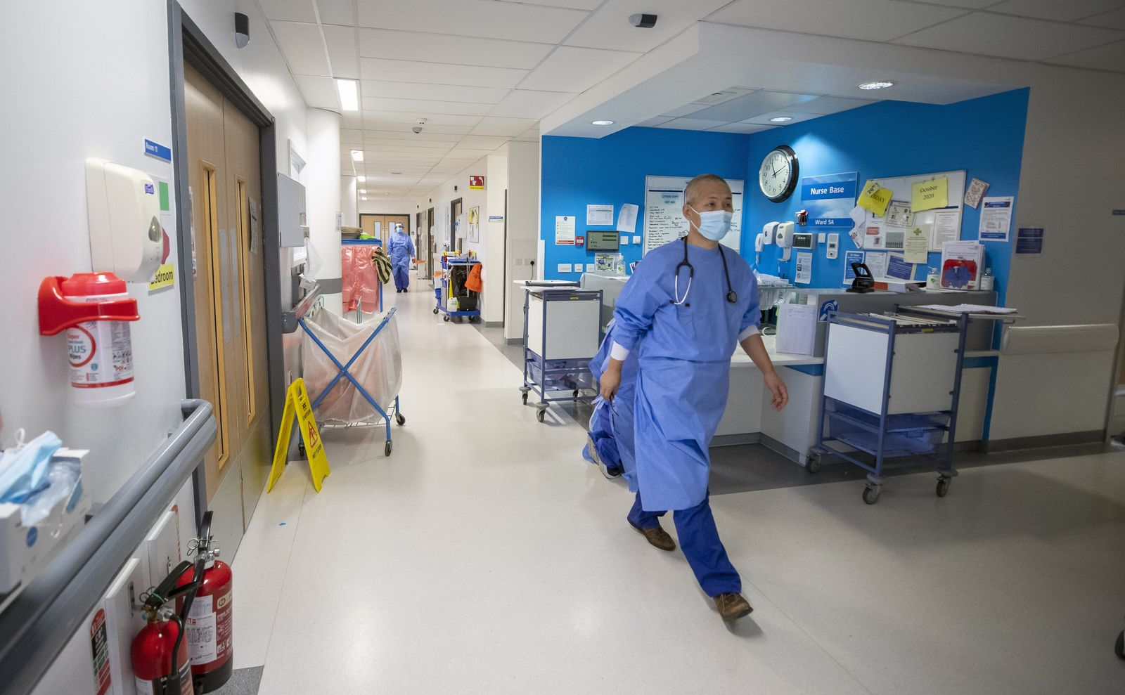 Staff shortages in the NHS