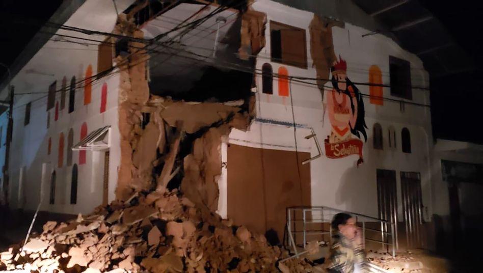 Erdbeben peru 2020