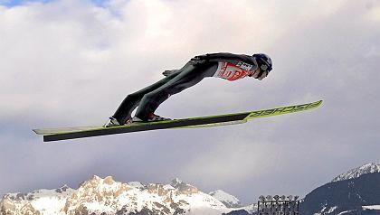 Skispringer Morgenstern: Platz zwei in Bischofshofen