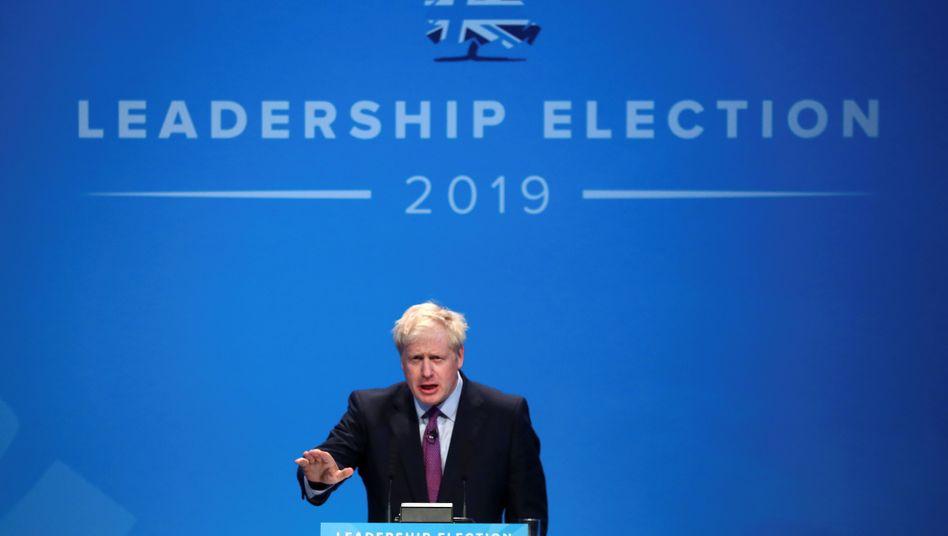 """""""An Halloween austreten"""": Boris Johnson"""