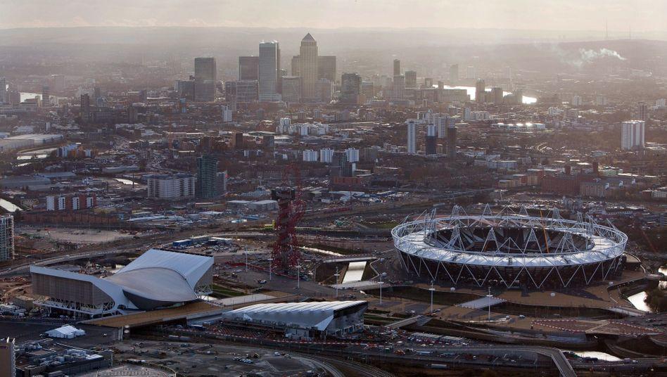 Olympiapark London: Zum Schutz vor Terroristen kommen Raketen auf Dächer