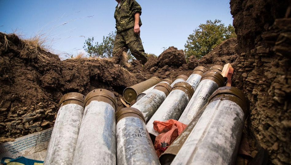 Ukrainischer Soldat in der Region Donezk: Wer verfolgt in dem Konflikt welche Strategie?