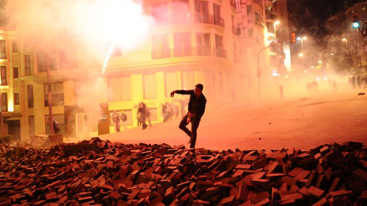 Türkei: Wasserwerfer gegen Erdogans Gegner