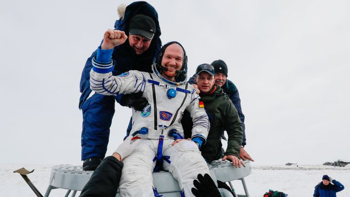Rückkehr von der ISS: Astro-Alex wieder auf der Erde