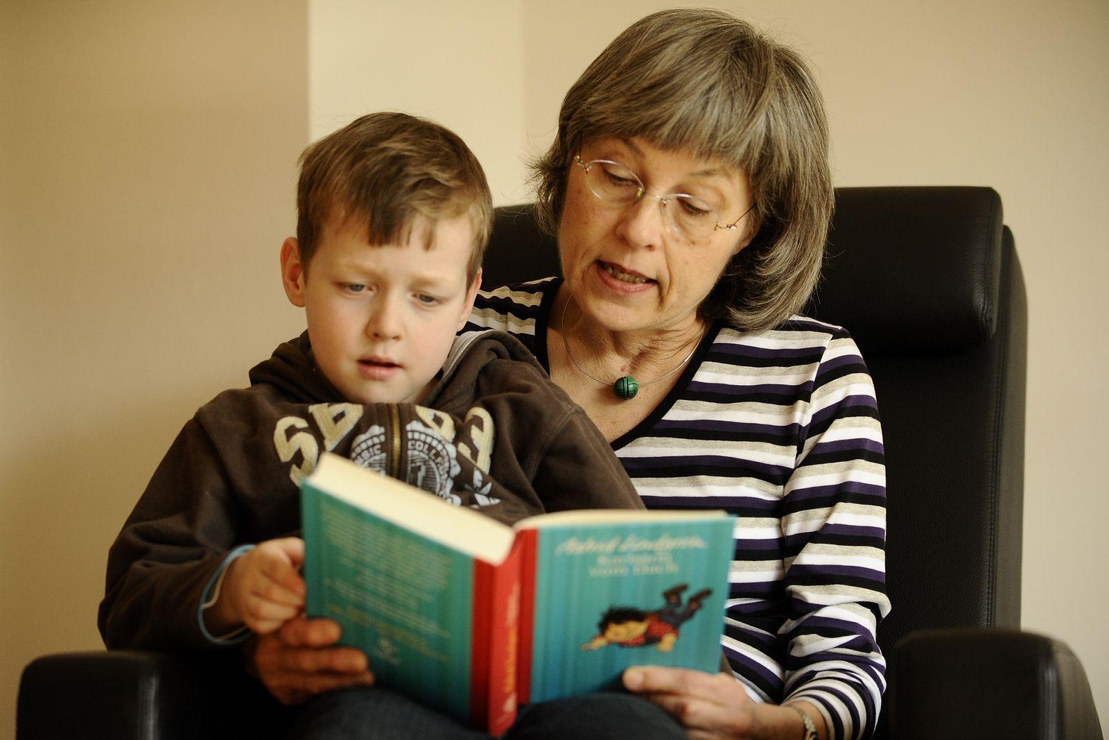 NICHT VERWENDEN Oma / Enkel / Kinderbuch