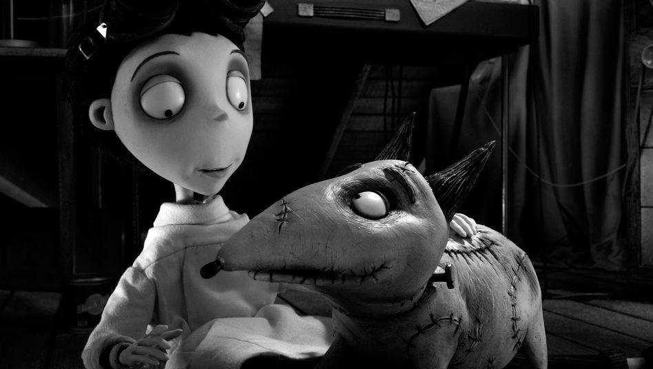 """""""Frankenweenie"""" von Tim Burton: Ein Herz für tote Tiere"""