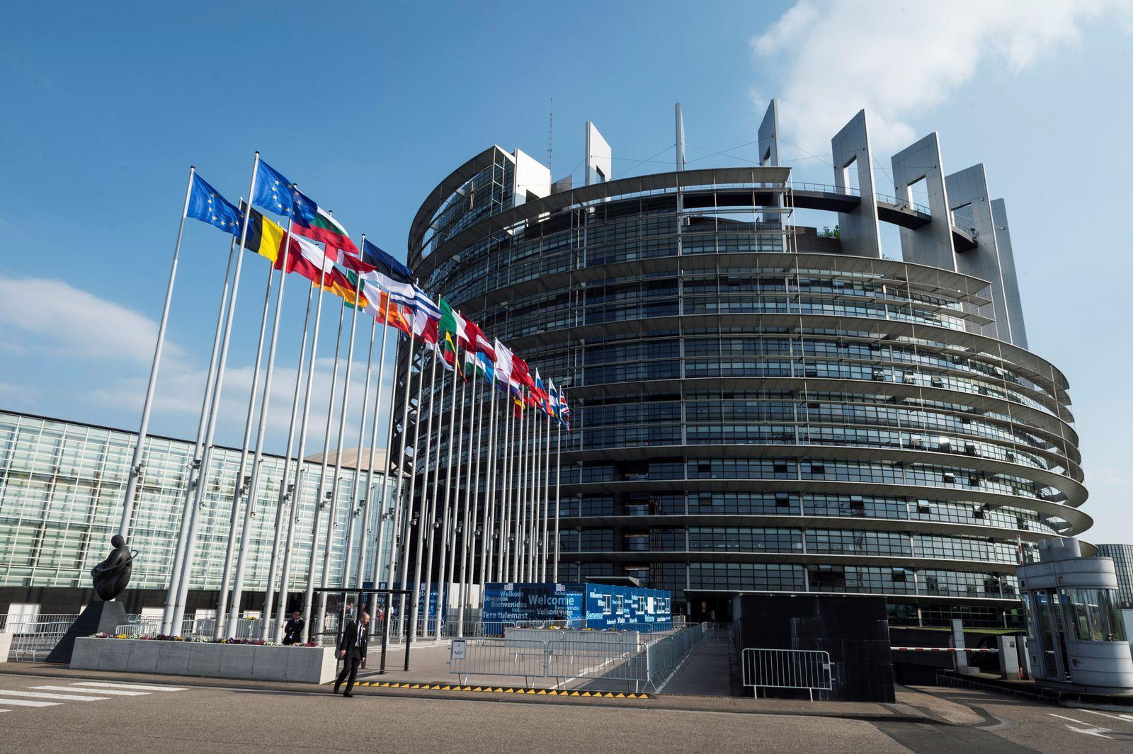 Symboldbild SEO/ Europäisches Parlament/ Straßburg/ Außen