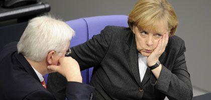 Steinmeier, Merkel: Politische Führung ist nicht leichter geworden