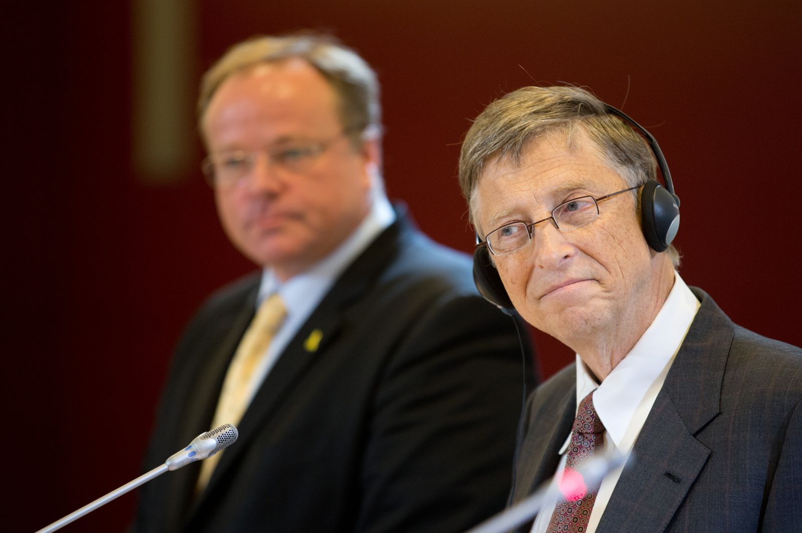 Dirk Niebel Bill Gates