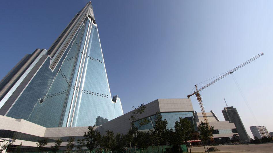 Ryugyonggyong-Hotel in Pjöngjang: Kein Kempinski im Prestigebau