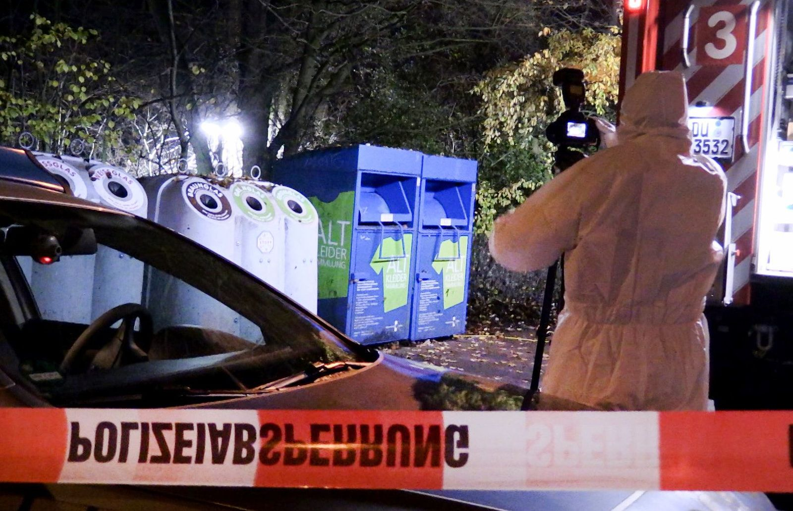 Leiche in Duisburger Wald gefunden