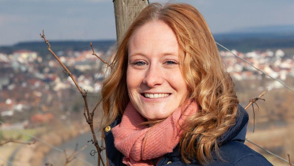 Laura-Sofie Dauenhauer-Fritz, 28, führt das Hotel ihrer Familie in sechster Generation