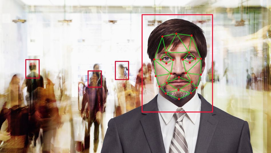 Gesichtserkennung (Symbolbild): Mehr Fehler bei Gesichtern mit einer anderen Hautfarbe als weiß