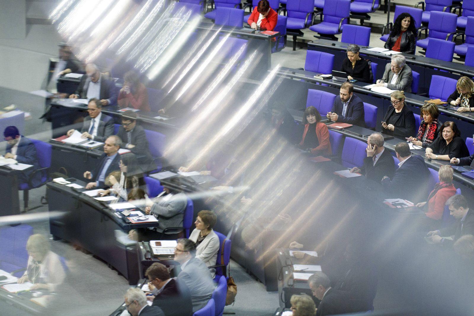 147. Sitzung des Deutschen Bundestages in Berlin, 14.02.2020. Berlin Deutschland *** 147 Meeting of the German Bundestag