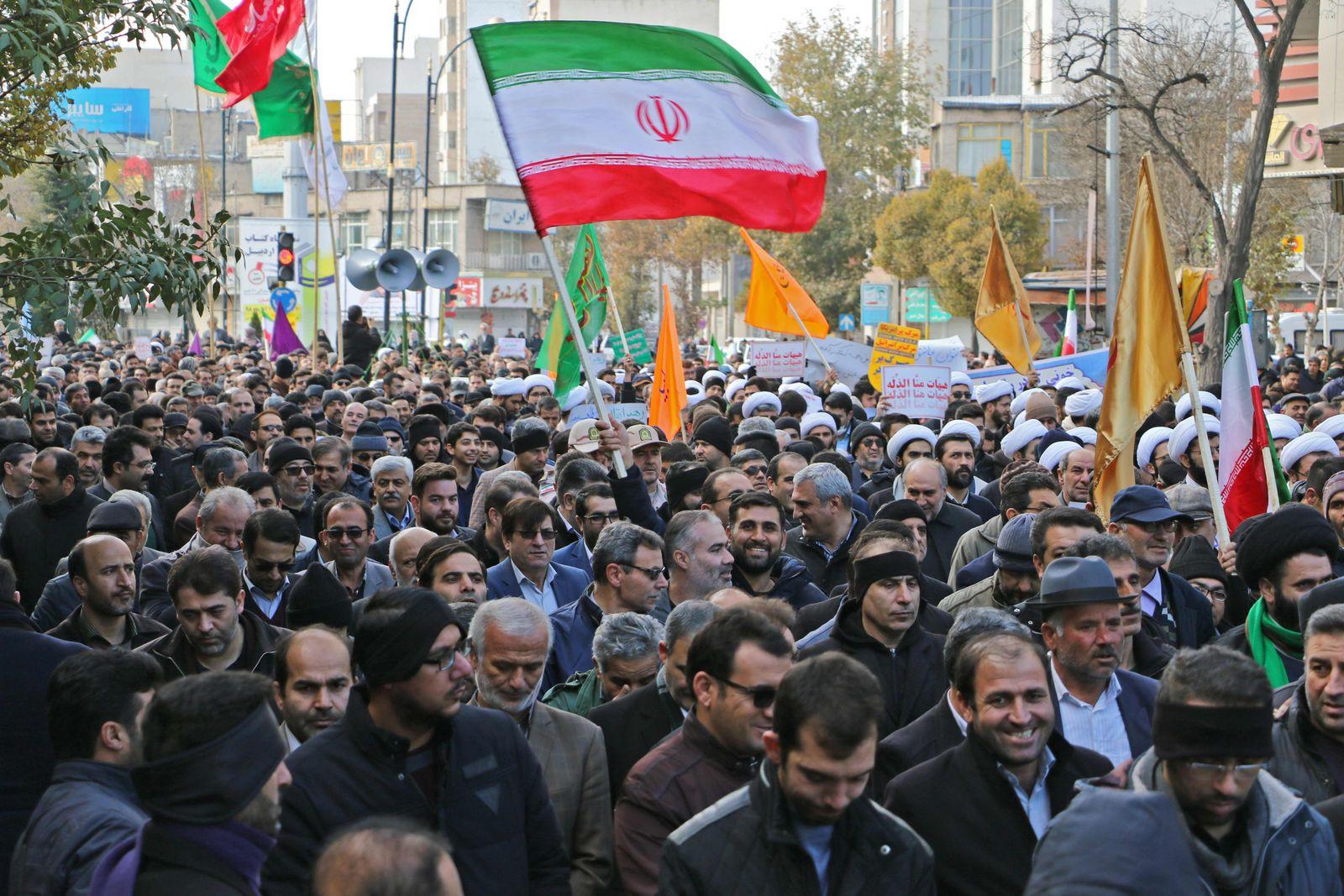 IRAN-POLITICS-PROTESTS