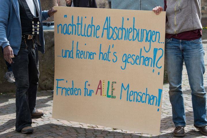 Protest in Witzenhausen nach dem Polizeieinsatz