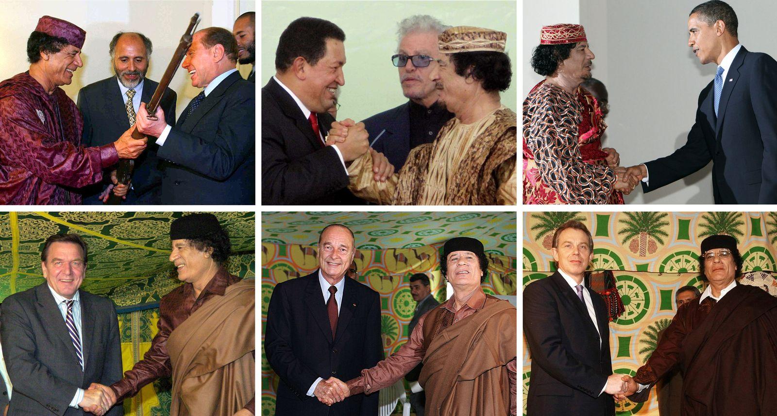 Tony Blair / Muammar al-Gaddafi