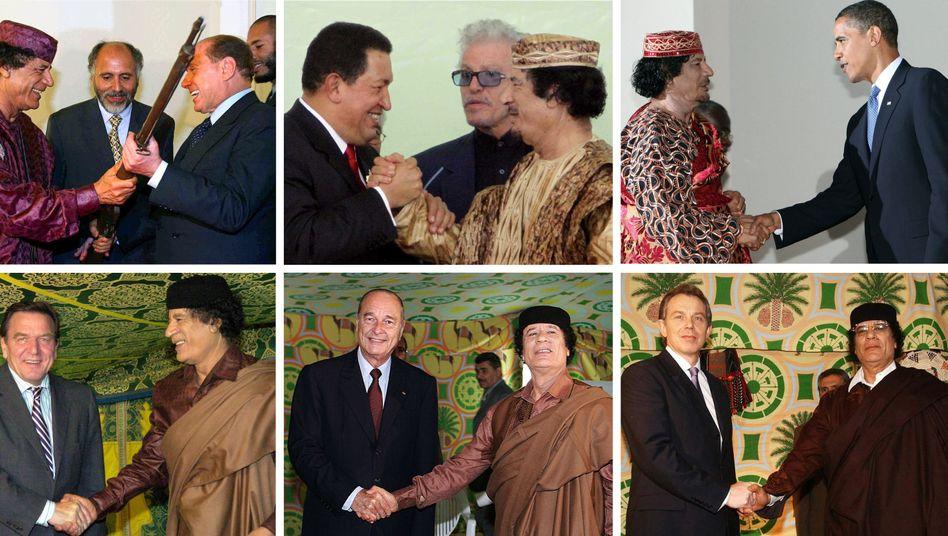 Tony Blair und Muammar al-Gaddafi (2004): Zusammenarbeit der Geheimdienste