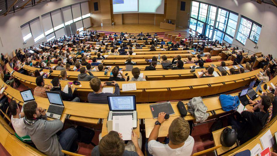 Studenten in Deutschland: Wenig im internationalen Vergleich