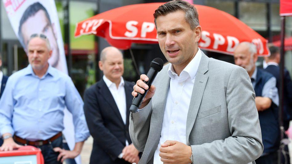 """SPD-Spitzenkandidat Dulig: """"Der könnte sofort hier anfangen"""""""