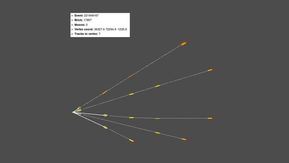 Neutrino-Experiment: Messfehler statt Rekordgeschwindigkeit?
