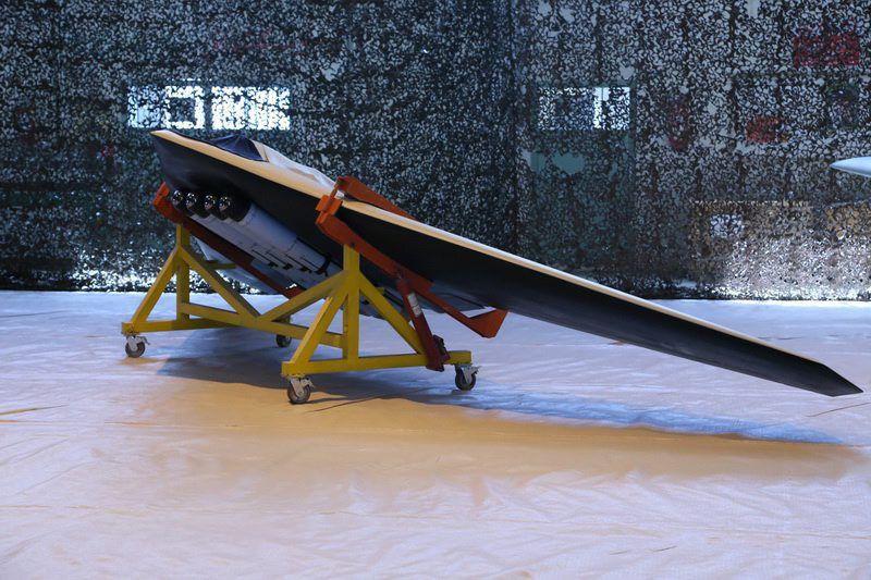Iran new local made drone Saegheh