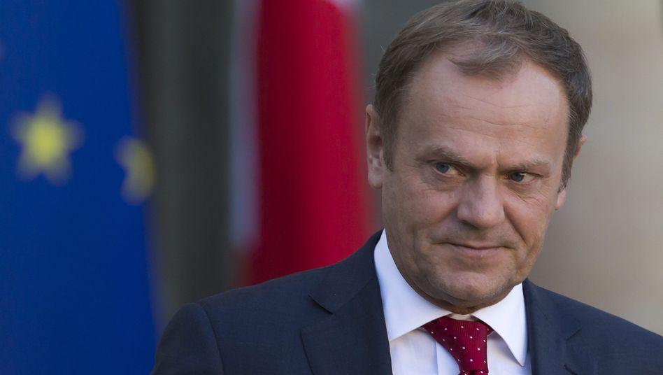 Ratspräsident Tusk: Lieblingskandidat der Kanzlerin