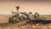 Gesteinsentnahme auf dem Mars geglückt