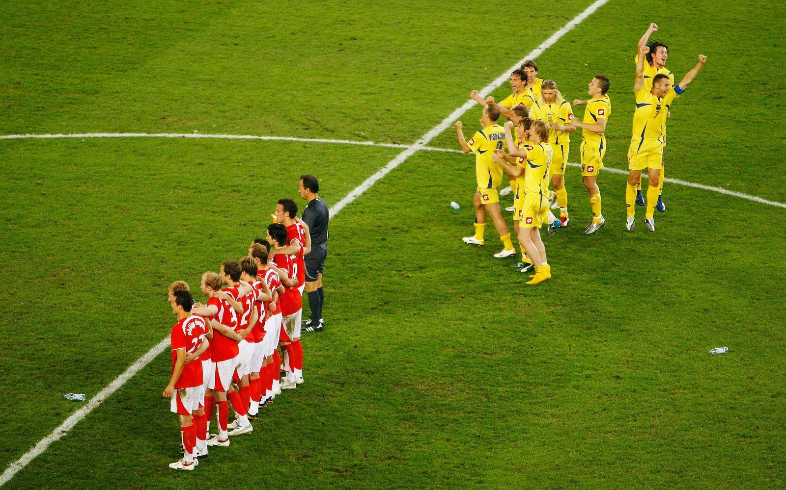 Round of 16 Switzerland v Ukraine- World Cup 2006