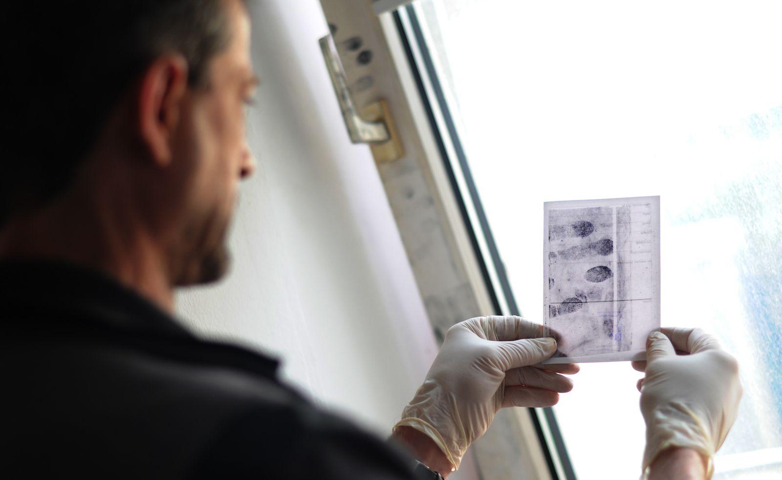 Wohnungseinbrüche - Spurensicherung Polizei Hannover