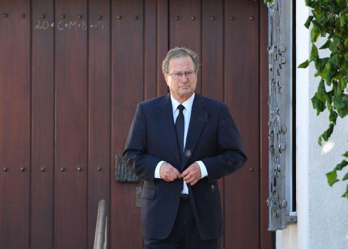 Ex-Bundesminister Kinkel