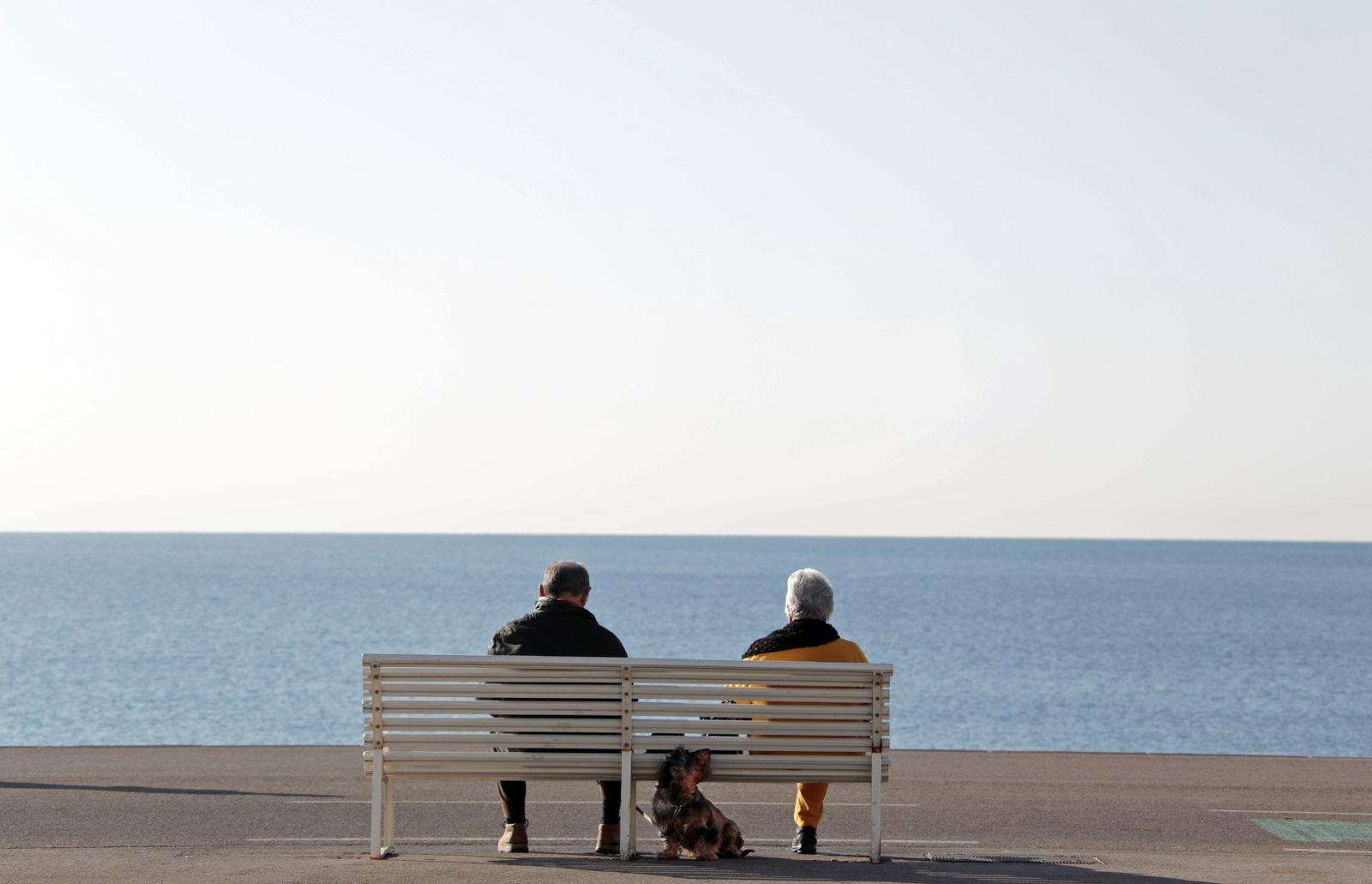 Senioren Mittelmeer Rente Rentner