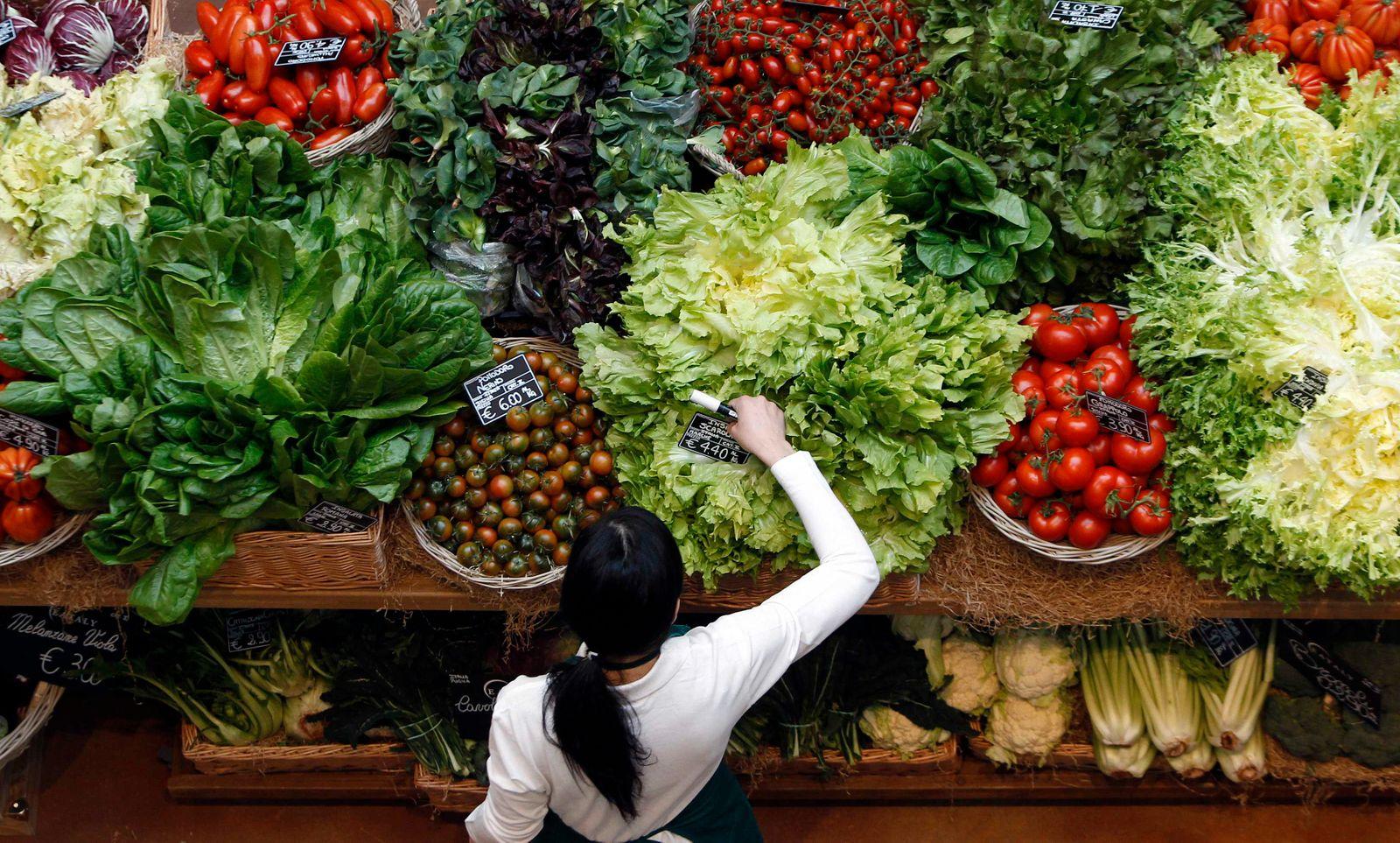Obst Gemüse Stand Mailand