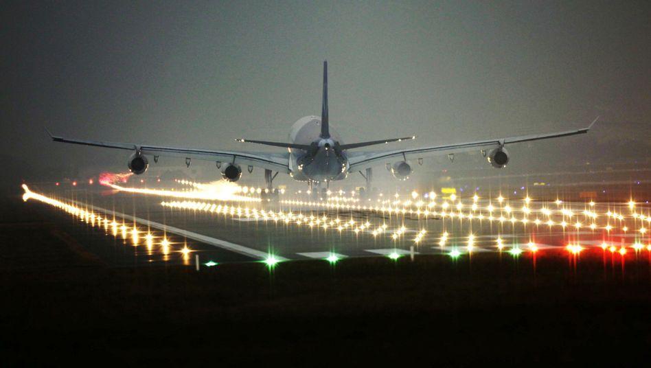 Landung in Frankfurt am Main: Start- und Landeverbot von 22 bis 6 Uhr gefordert