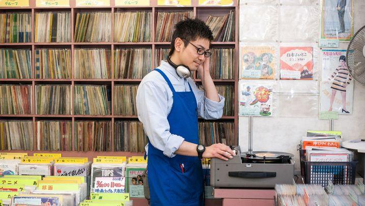 Bildband über Plattenläden: Ladenbetreiber und Stammkunden