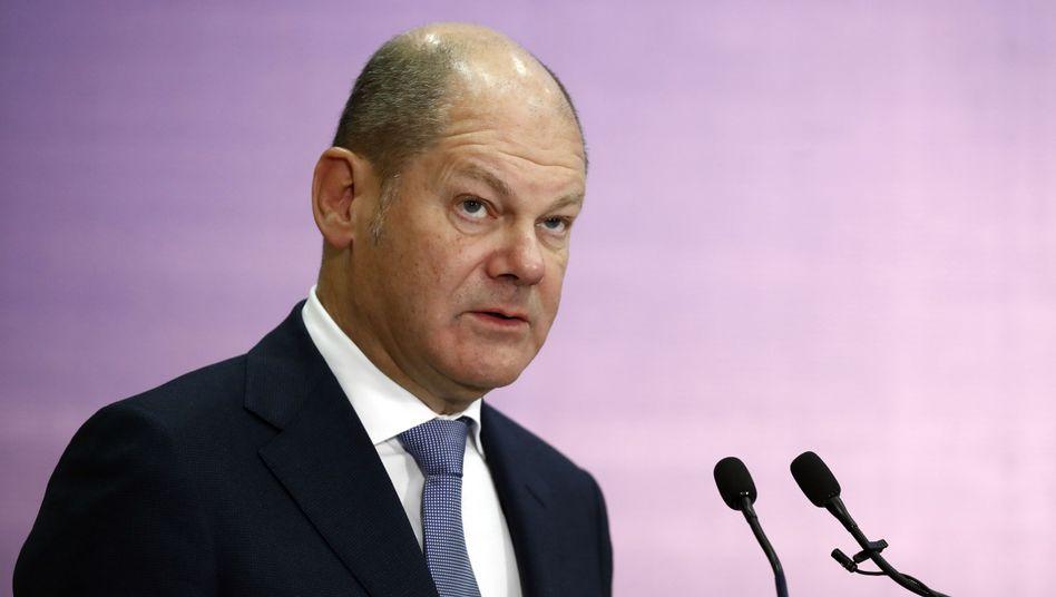 Finanzminister Olaf Scholz hat die Schuldenbremse fast vollständig ausgereizt