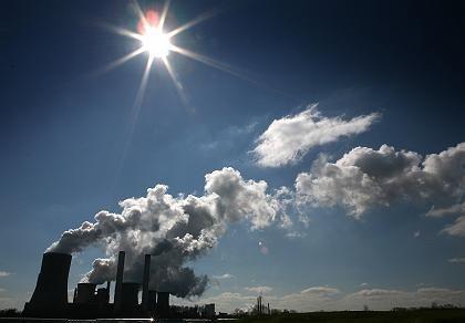 """Braunkohlekraftwerk (bei Bergheim): """"Keine Region reduziert den Kohlenstoffausstoß ihrer Energieversorgung"""""""