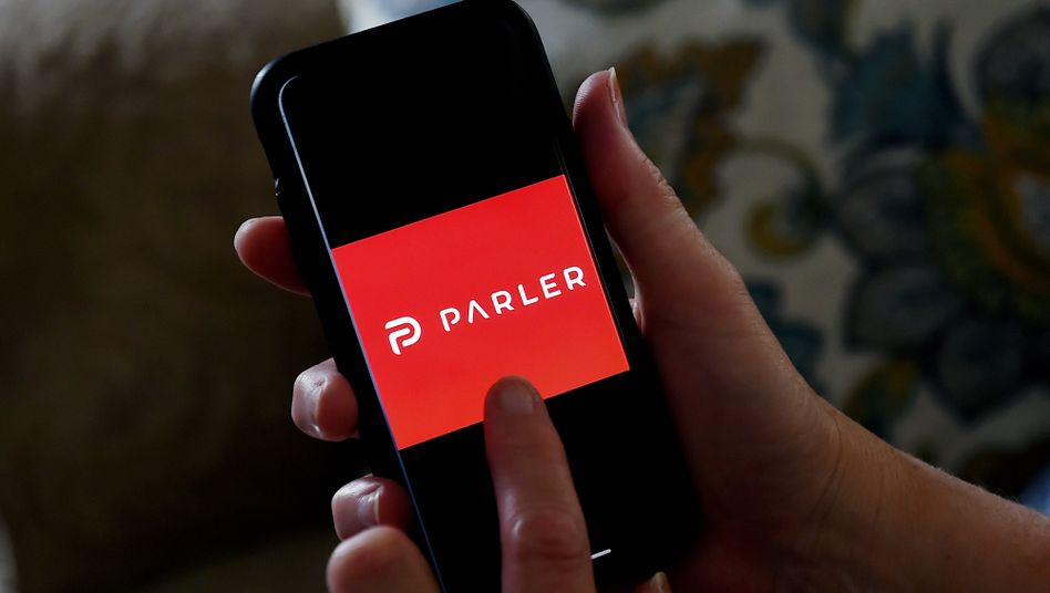 Parler: Der Dienst läuft nicht, nur die Website ist erreichbar