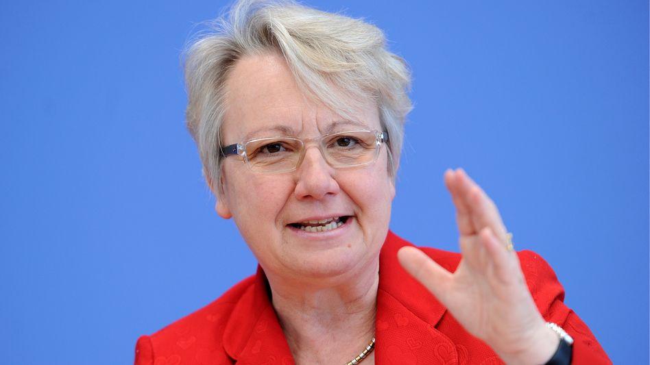 Ministerin Annette Schavan (CDU): Ziel eines anonymen Plagiatsvorwurfs
