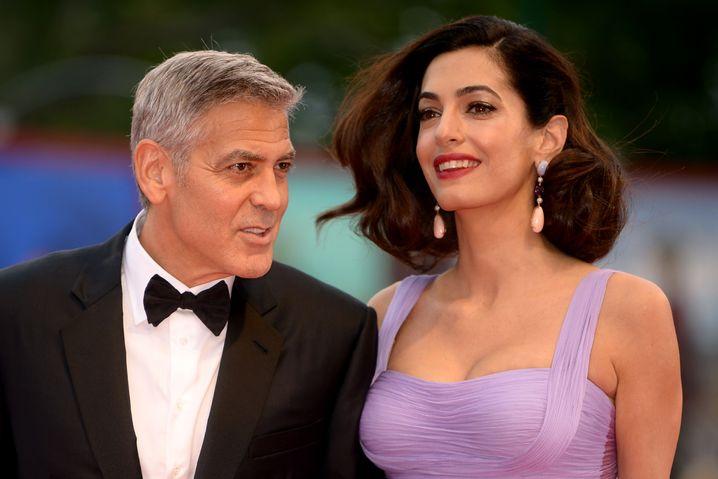 Ehepaar Clooney bei einer Filmpremiere im September 2017