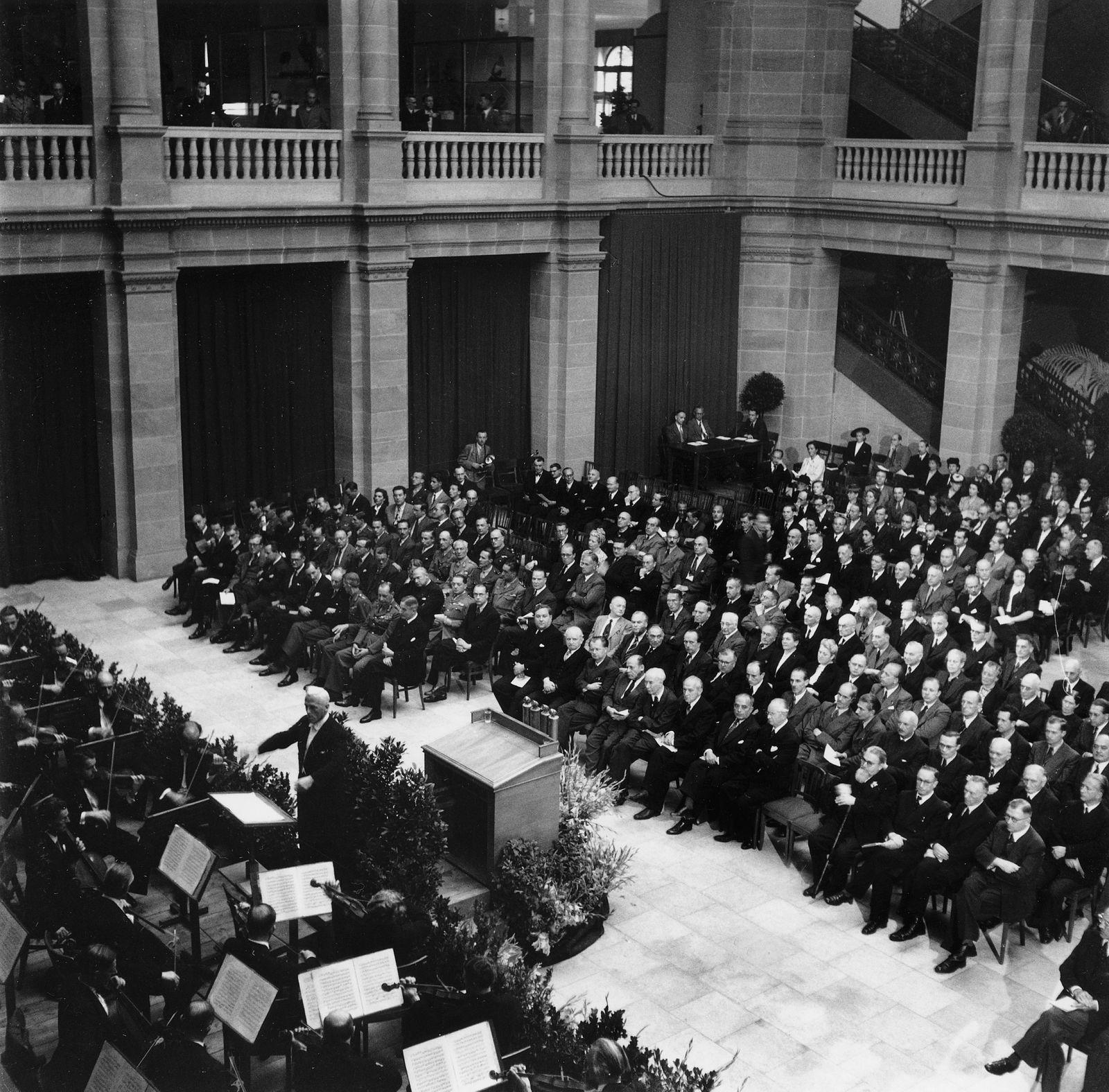 Parlamentarischer Rat - Eroeffnungssitzung