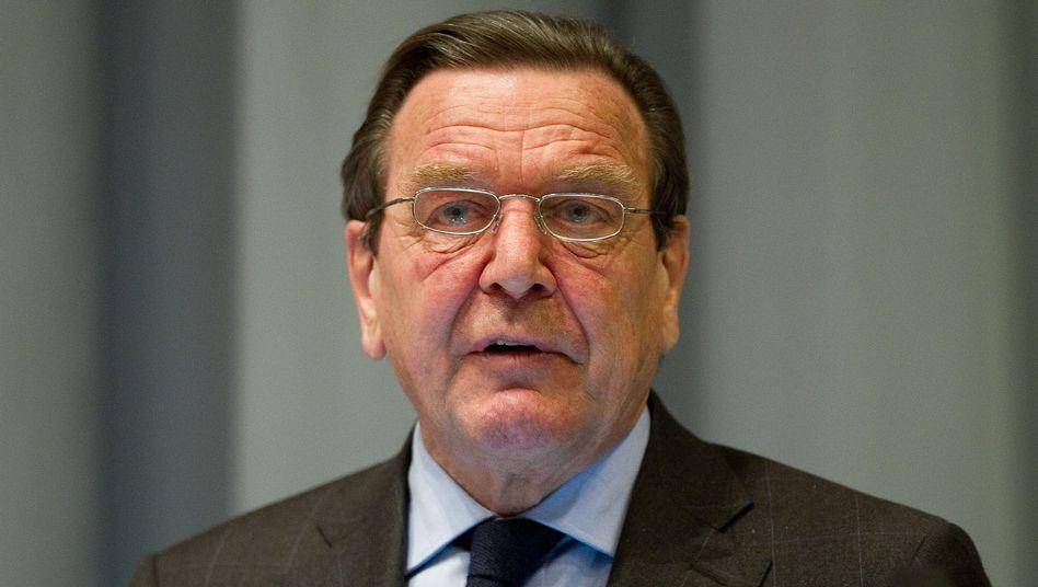 """Ex-Bundeskanzler Schröder (Archivbild): """"Das geht zu weit"""""""