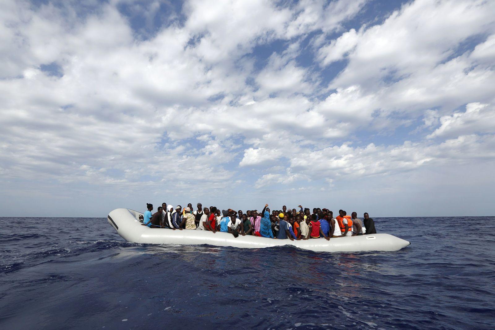 Flüchtlinge/ Boot