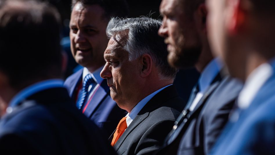 Mit ihm steht erstmals ein EU-Politiker auf der Liste der Pressefeinde: Ungarns Ministerpräsident Viktor Orbán