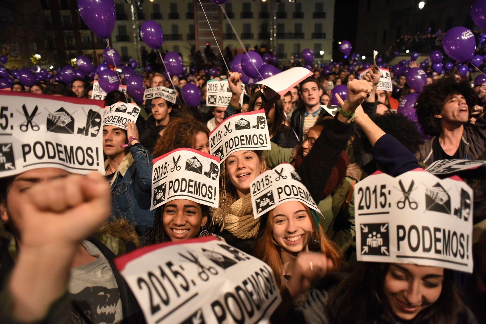 Podemos / Spanien / Wahl