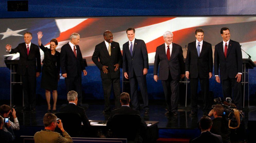 Photo Gallery: The Republican Campaign Circus