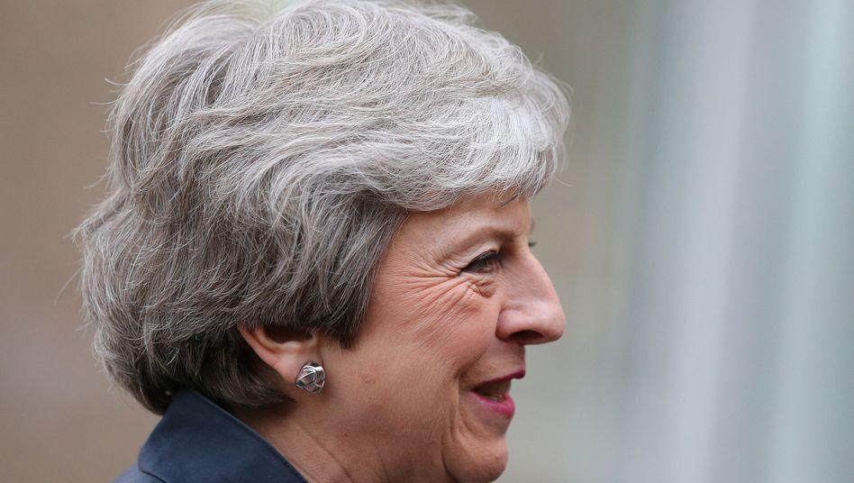 """Premierministerin May: """"Lassen sie uns ein Geschäft abschließen"""""""