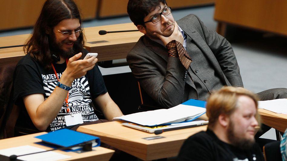 Berliner Piraten (Archivbild): Staatstrojaner gegen die Verfassung?