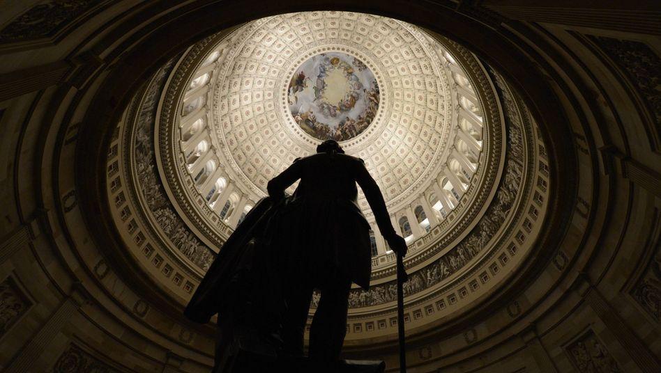 Kapitolsgebäude und Washington-Monument: Keine Kompromisse
