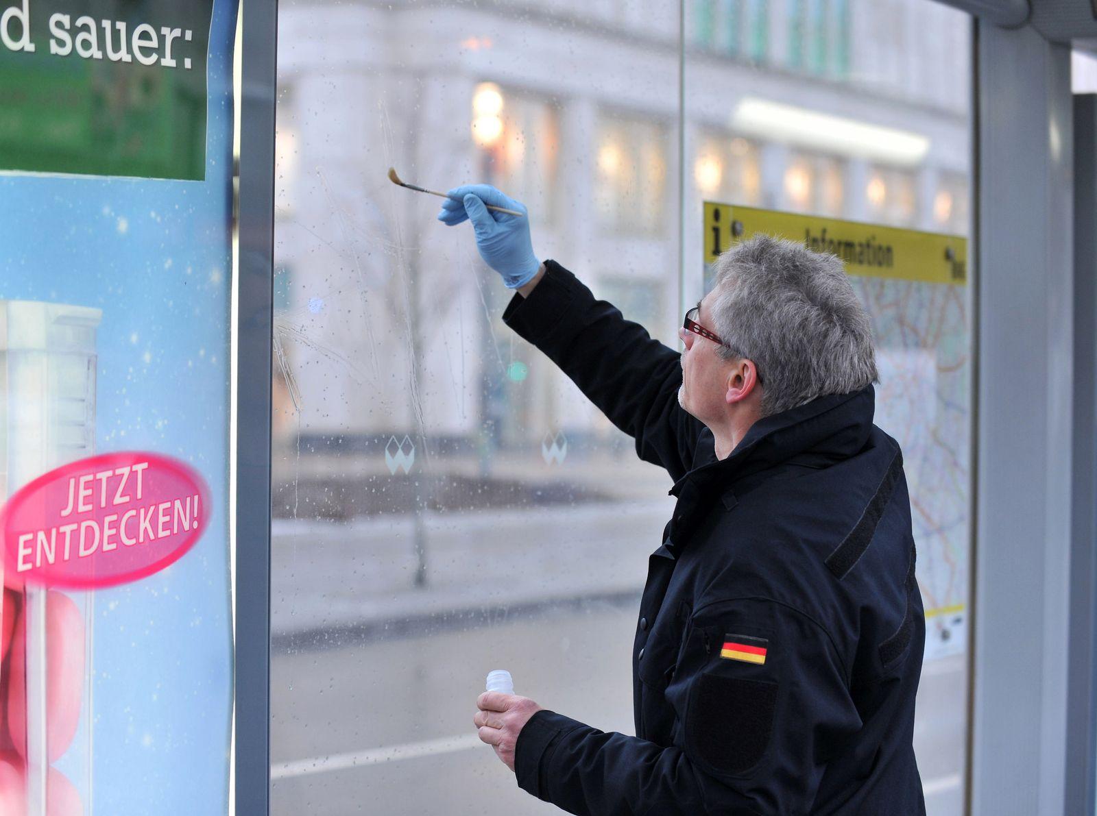 Säurealarm am Berliner Alexanderplatz
